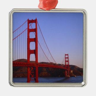 Golden Gate Bridge, San Francisco, California, 2 Christmas Ornament