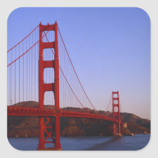 Golden Gate Bridge, San Francisco, California, 2 Square Sticker