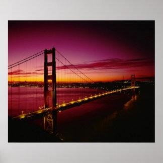Golden Gate Bridge, San Francisco, California, 3 Poster