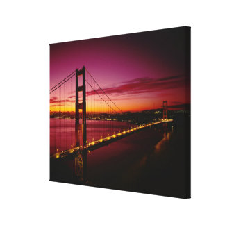Golden Gate Bridge, San Francisco, California, 4 Gallery Wrapped Canvas
