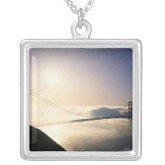 Golden Gate Bridge, San Francisco, California, 4 Silver Plated Necklace