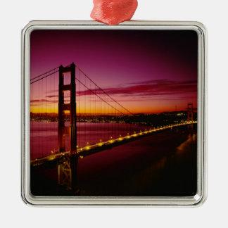 Golden Gate Bridge, San Francisco, California, 5 Christmas Ornament