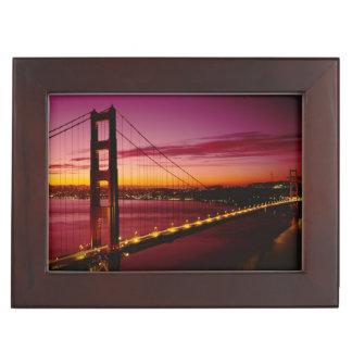 Golden Gate Bridge, San Francisco, California, 5 Keepsake Box