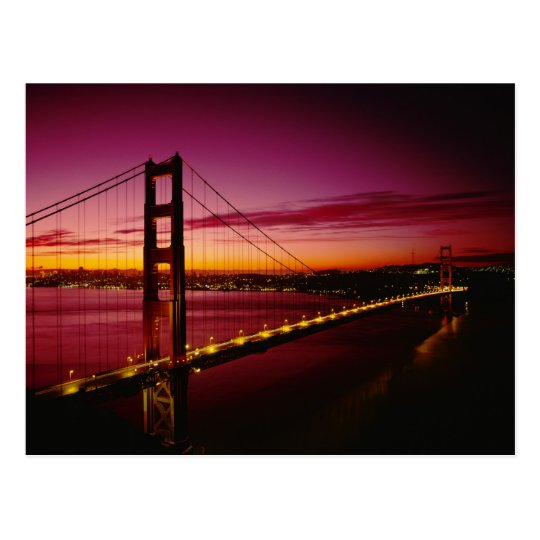 Golden Gate Bridge, San Francisco, California, 5 Postcard