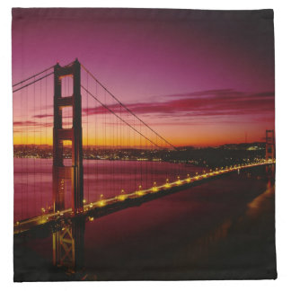 Golden Gate Bridge, San Francisco, California, 5 Printed Napkin
