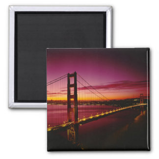 Golden Gate Bridge, San Francisco, California, 5 Square Magnet