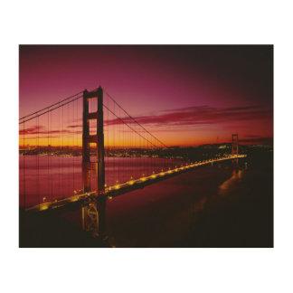 Golden Gate Bridge, San Francisco, California, 5 Wood Wall Art