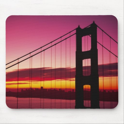 Golden Gate Bridge, San Francisco, California, 6 Mouse Pad