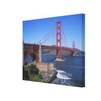 Golden Gate Bridge, San Francisco, California, 8 Canvas Prints