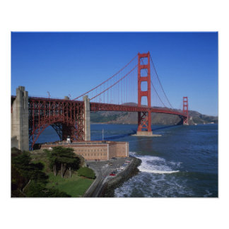 Golden Gate Bridge, San Francisco, California, 8 Poster