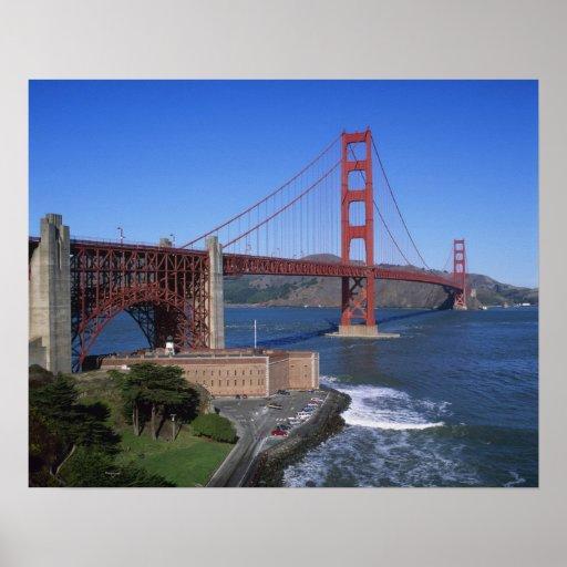 Golden Gate Bridge, San Francisco, California, 8 Poster