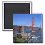 Golden Gate Bridge, San Francisco, California, 8 Square Magnet