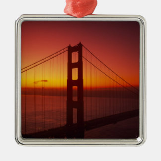 Golden Gate Bridge, San Francisco, California, 9 Christmas Ornament