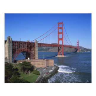 Golden Gate Bridge, San Francisco, California, 9 Photo Print