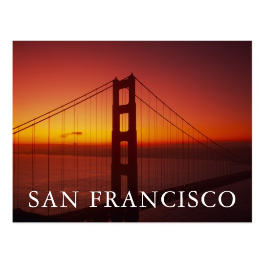 Golden Gate Bridge, San Francisco, California, 9 Postcard