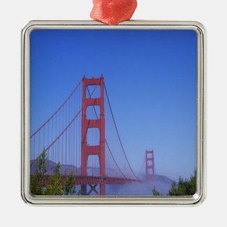 Golden Gate Bridge, San Francisco, California, Christmas Ornament