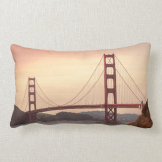 Golden Gate Bridge San Francisco California Lumbar Pillow