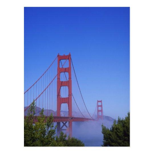 Golden Gate Bridge, San Francisco, California, Postcard