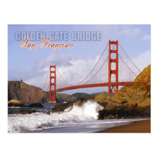 Golden Gate Bridge, San Francisco, California Postcard