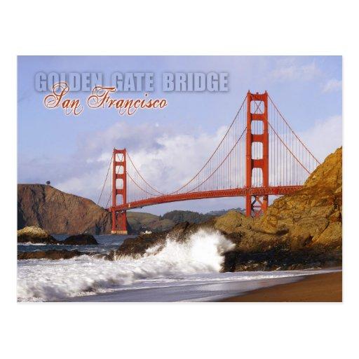 Golden Gate Bridge, San Francisco, California Post Cards