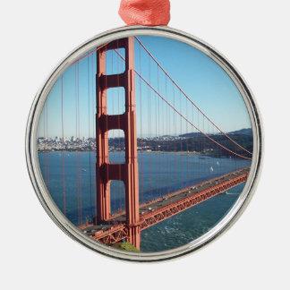 Golden Gate Bridge, San Francisco Christmas Ornament
