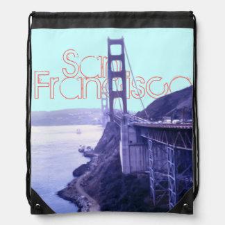 Golden Gate Bridge San Francisco Drawstring Bag