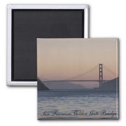 Golden Gate Bridge, San Francisco Golden Gate B... Refrigerator Magnets