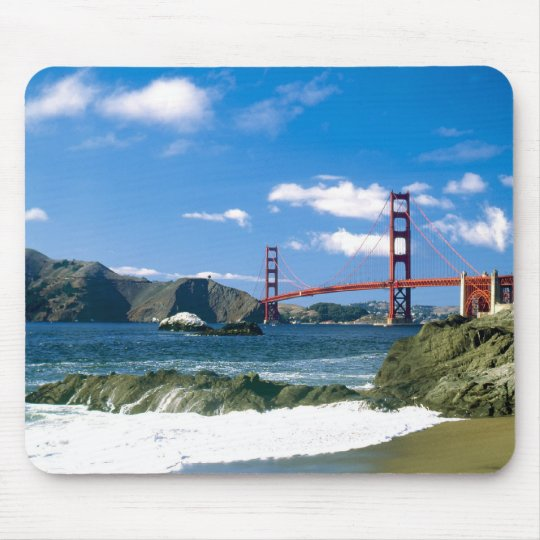 Golden Gate Bridge San Francisco Mousepad