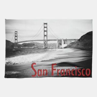Golden Gate Bridge, San Francisco Tea Towel