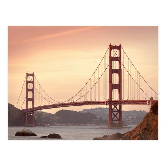Golden Gate Bridge, San Francisco, USA Postcard