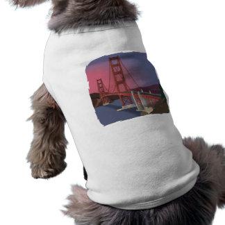 Golden Gate Bridge Sleeveless Dog Shirt