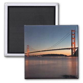 Golden Gate Bridge Square Magnet