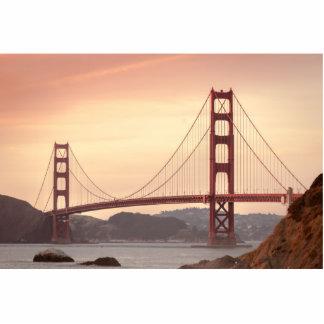 Golden Gate Bridge Standing Photo Sculpture