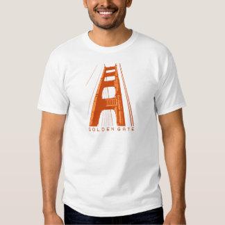 Golden Gate Bridge Tower - Orange Shirt