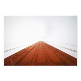 Golden Gate Bridge Tower Photograph