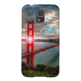 Golden Gate Bridge with Sun Shining through. Galaxy S5 Covers