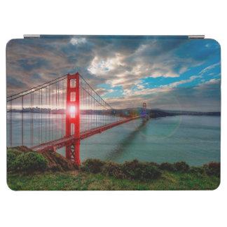 Golden Gate Bridge with Sun Shining through. iPad Air Cover