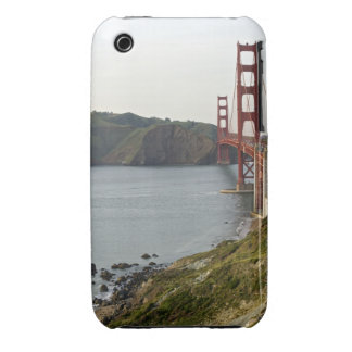 Golden Gate bridge with view to Marin County Case-Mate iPhone 3 Cases