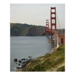 Golden Gate bridge with view to Marin County Print