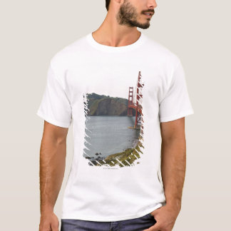 Golden Gate bridge with view to Marin County T-Shirt