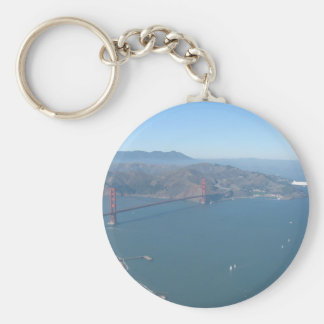 Golden Gate Bridge with Zeppelin Keychain