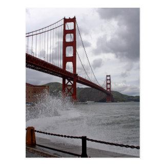 Golden Gate from Fort Point Postcard