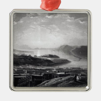 Golden Gate, from Telegraph Hill Christmas Ornament