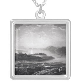 Golden Gate, from Telegraph Hill Silver Plated Necklace