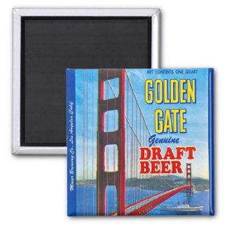 Golden Gate Genuine Draft Beer Magnet