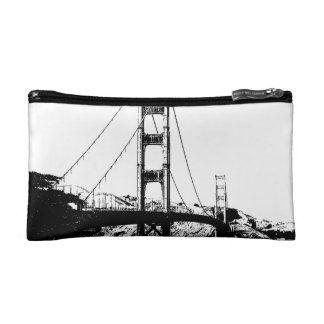 Golden Gate Makeup Bag