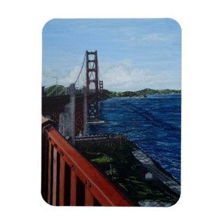 """Golden Gate Morning 3""""x4"""" Photo Magnet"""