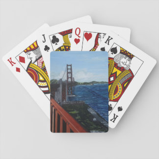 Golden Gate Morning Playing Cards