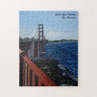 """Golden Gate Morning Puzzle, 11"""" x 14"""" Jigsaw Puzzle"""