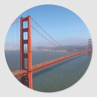 Golden Gate National Recreation area Classic Round Sticker